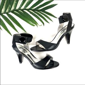 COACH and Four Black Button Leather Heels 7